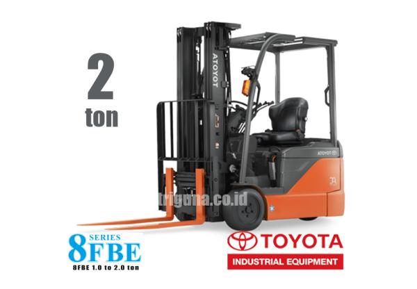 Forklift Battery 2 ton TOYOTA 8FBE20