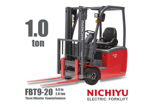 Forklift Nichiyu 1 ton three wheel