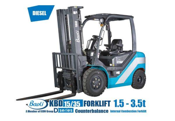 Forklift Diesel Baoli 1.5 - 3.5 Ton